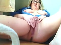 Chubby White Teen Masturbates Cums And Squirts By Wf