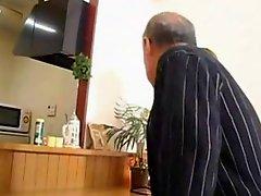 Old Man Beautiful Japanese MILF Erotic Yumi Kazama