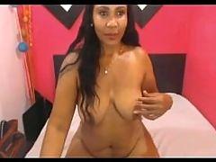 Sexy Beautiful Mature Ebony Latina On Webcam
