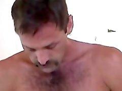 Homemade Video of Mature Amateur Jeff Jerking Off
