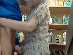 Broke Mom Paying In Store With A Blow
