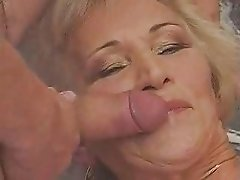 Granny Gangbang And Big Facial And Cream Pie!!!