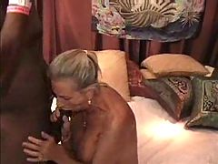 Mature Swinger Wife Gets Fucked by Black