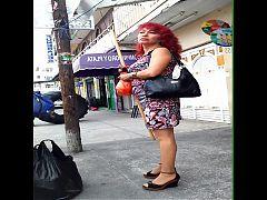 Rica maduritaa en la calle