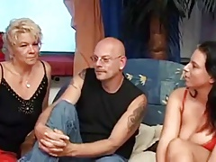 Good Mature & Milf German Threesome