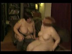 2 Horny Fat Bbw Lesbians Kissing And Eating Pussy
