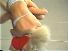 California Girls Topless Wrestling 3