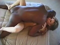Lucky Man Has An Interracial Threesome