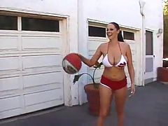 Hardcore gianna michaels basketball