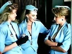 Stewardess Gets Nailed