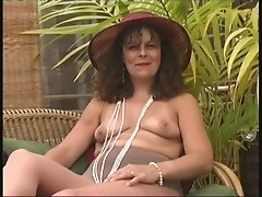 Mature Village Ladies stripping