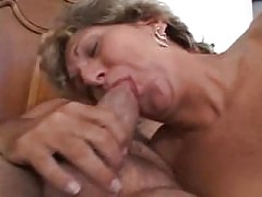 Shy old mature s doing her first porn with big anal