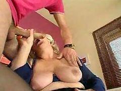 Mother big tits