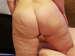 German PAWG Sarah Big Butt Ass Naked Shake!!!