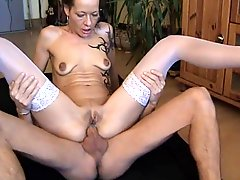 German mature Beatrice anal fucked again