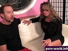 Amanda blow gives rimjob