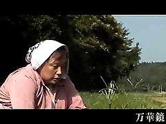 Koreanische Baeuerin wird gefickt