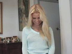 Teen hot blonde quickie