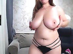 21 year old dude cam to cam with 38 year old curvy woman