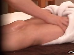 She Gets Her Perfect Body Is Massaged And This Nasty Ho