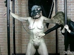 Old Sexy Nanny Is Rubbed By Horny Woman Using A Dildo 1