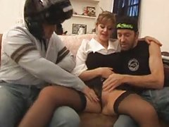 French lady threesome