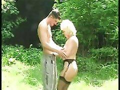 German blonde granny part 1