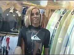 Hot Surfer Mom Store Fuck