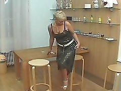 Smoking mature blonde 1 5