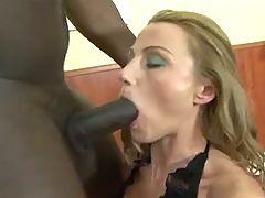 Cock Crazy MILF Ass Rammed By A Black Schlong