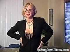 Mature blonde fuck