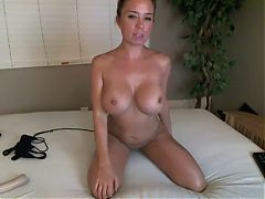 Stunning Blonde Milf Private Webcam Show