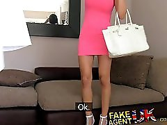 FakeAgentUK Delicious body with amazing breasts can t turn down the money