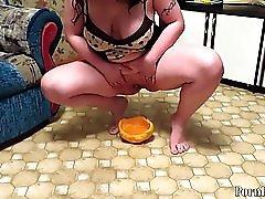 Urination Mature Aunt