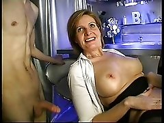Mature Woman Teaching Young Boy F70