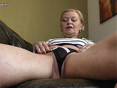 Extremely hot and sexy grandmother
