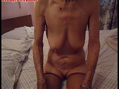 Old latina amateur granny with big boobs and big ass