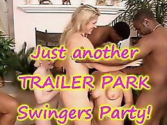 3 MILFS and the INTERRACIAL Swingers Party