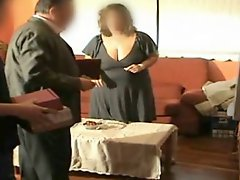 Spy Milf Molly fuck Father and boy