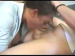 Young Busty Girl Deepthroat