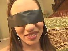 Beautyfull Girl Blindfold