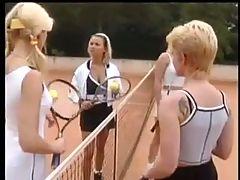 Nice German tennis court sex