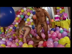 Beautiful Sweet Anal Teen Gets Ass Fucked In A Room Full Of Balloons
