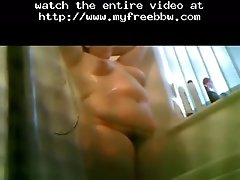 Wife Showering Part 2 BBW Fat Bbbw Sbbw Bbws BBW Porn