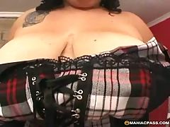 Fat cock hungry slut unleashed