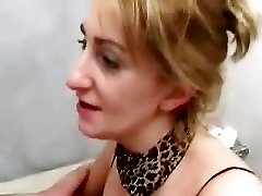 Mature Mom Fucks in Toilet