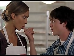 Jessica Alba Meet Bill Sucking Finger 2x