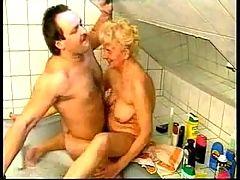 Wrinkly Horny Granny Still Craves Cock