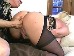 Big Tits Chick Banged By A Big Cock