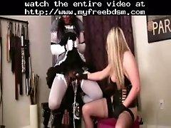 Sissy Made To Cum BDSM Bondage Slave Femdom Domination